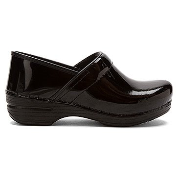 Dansko Women's Pro XP Clog,Black Patent,37 EU/6.5-7 M US by Dansko