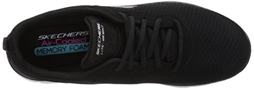 Skechers Sport Mujeres Mujeres Flex Appeal 2.0 Newsmaker Sneaker Black-17