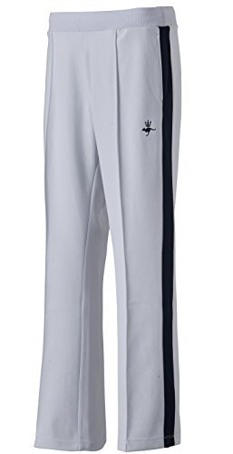 Simpson STW-52401 Women's Warm Up Knit Track Pants White XL