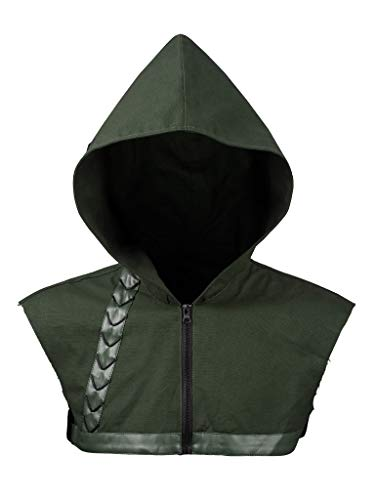 CosFantasy New Oliver Queen Cosplay Hood Arrow Costume mp003143 (Size 2XS) -