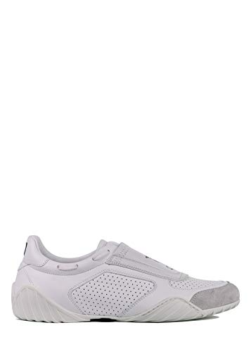 Christian Dior White Leather - Dior Women's White D-Fence Leather Suede Sneakers Size IT35/US5~RTL$890