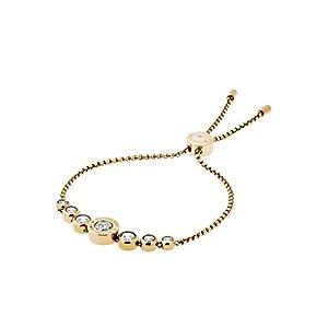 Best Epic Trends 311Ah1NYJoL._SS300_ Michael Kors Women's Stainless Steel Slider Bracelet