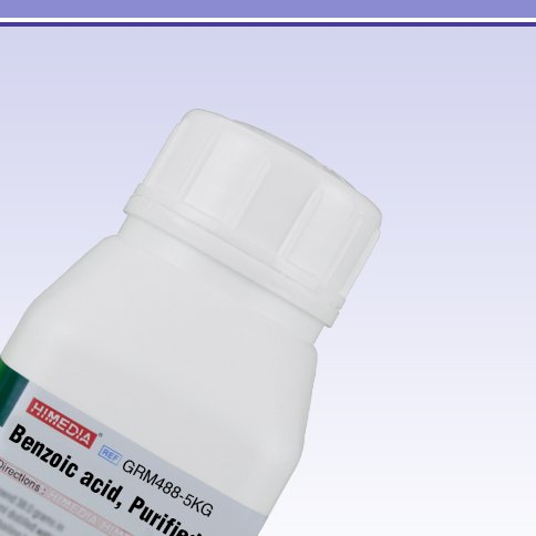 HiMedia GRM488-500G Benzoic Acid, Purified, 500 g