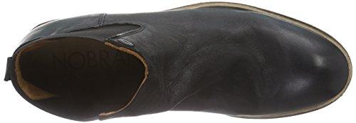 NOBRAND Akra, Men's Chelsea Boots Black (Black )