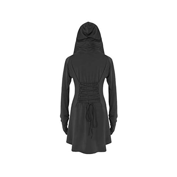 LATH.PIN Costume Donna Cosplay per Halloween Carnevale Partito Festa Medievale Vintage Vestito Asimmetrico Elastico… 3 spesavip