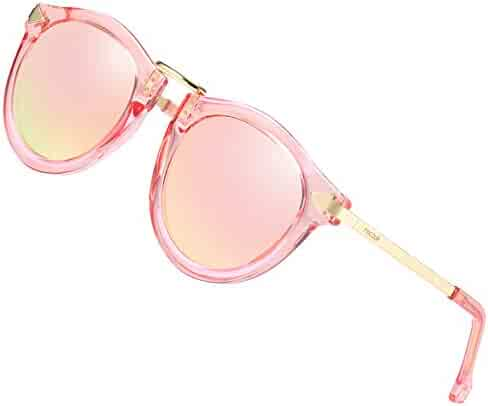 d69f138e0 PINCOUR Oversized Sunglasses for Women Cateye Shades HD Lens Polarized  PK1189