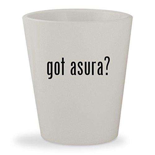 got asura? - White Ceramic 1.5oz Shot Glass