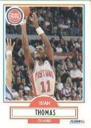 1990-91 Fleer #61 Isiah Thomas