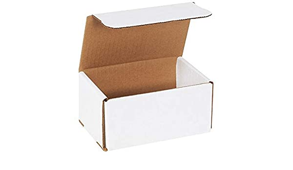 50-3x3x2 White Corrugated Shipping Mailer Packing Box Boxes