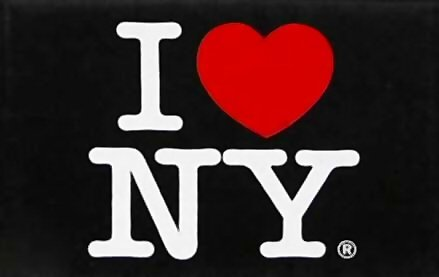 I Love New York Jumbo Black Magnet, New York Magnets, NYC Souvenirs, Fridge Magnets, NY Magnet (Refrigerator York New Magnet)