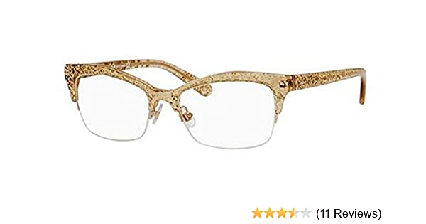 d84ad341a63 Amazon.com  Kate Spade Lyssa Eyeglasses-0W51 Gold Glitter -51mm  Shoes