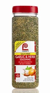 McCormick Lawry's Salt Free Garlic & Herb Seasoning, No A...