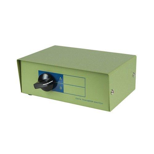 Monoprice DB9 Female Ports AB 2 Way Bidirectional Switch Box