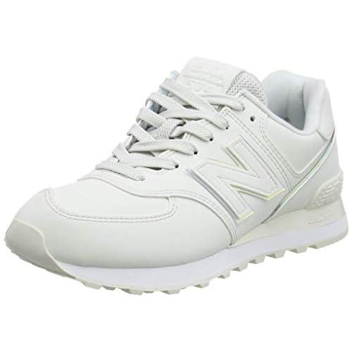 chollos oferta descuentos barato New Balance 574 WL574CLD Medium Zapatillas Mujer White Nimbus Cloud CLD 43 EU