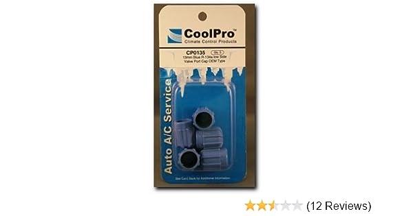 CoolPro Blue R-134a Low Side Valve Port Cap, 13mm (CP0135)