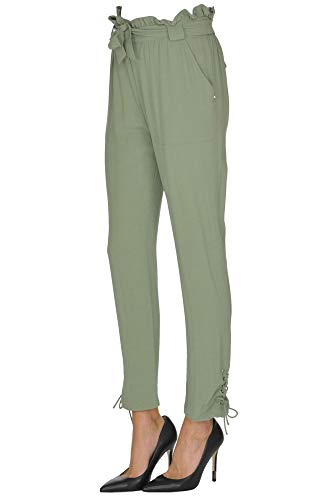 Donna Pantaloni Mcglpnp000005054e Patrizia Pepe Verde Viscosa EqaW8w