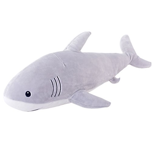 Ocean Stuffed Animals Shark Dolls Super Soft Kids Plush Pillows Baby Toys 21'' by Lazada