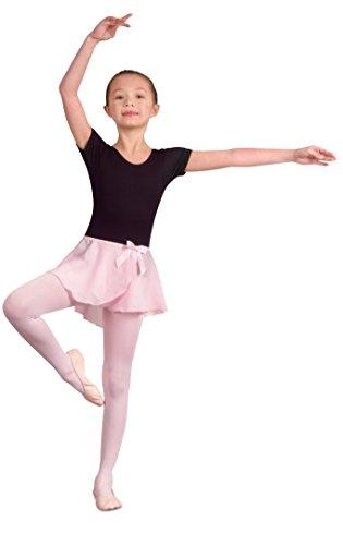 - Danshuz Children's Georgette Mock Wrap Skirt (Pink Toddler/Small)