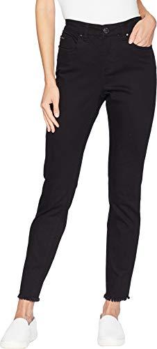 FDJ French Dressing Jeans Women's Sunset Hues Olivia Slim Ankle Black 10