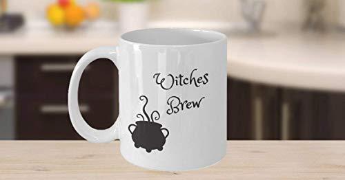 Mydufish Funny Coffee Mug,Witches Brew Coffee Mug - Mug for Witches Brew - Gift for Witches - Halloween Mug