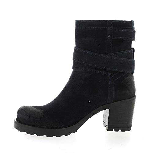 Pao Boots Cuir Cuir Pao Boots Velours Velours Marine aEfgxg