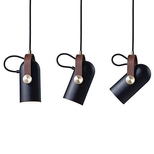 Lampe de chevet Minimalisme moderne suspendu Réglable Chambre à coucher étude Loft Bar Lampe suspendue Art classique Fer Aluminium éclairage intérieur Oslash; 12cm  H22cm E27 Max.40W