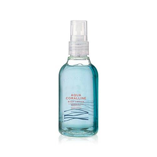 Thymes - Aqua Coralline Petite Body Wash with Pump - Refreshing Luxury Shower Gel for Men & Women - Travel Size - 2.5 (Refreshing Body Gel)
