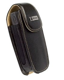 Krusell Vertica Leather Phone Case With Belt Clip Size Small Fits Devices Up To 3.35 x 1.8 x 1.06 Inches (Wide Case Xxs)