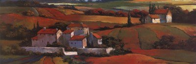Used, Tuscan Sunrise by T.C. Chiu - 36x12 Inches - Art Print for sale  Delivered anywhere in USA