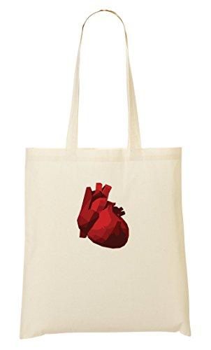 Natural Heart Sac À Red Sac Fourre Tout Provisions aZ85Zqwdx