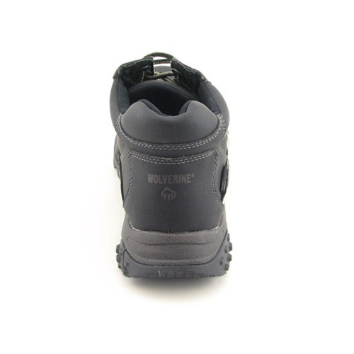 Mens Wolverine Red Tooth Mid Composite Toe EH Work Shoe Black KPLHzMsI9