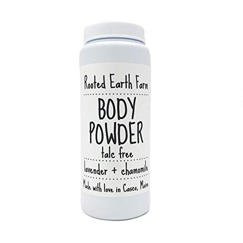 Organic Talc Free Body Powder Lavender and Chamomile
