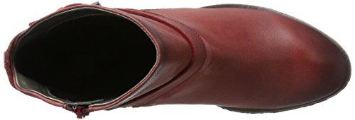 Bugatti Women's V75311g Biker Boots Red (Red 300) finishline sale online nUNNq