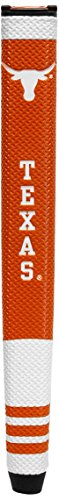 Team Golf NCAA Texas Longhorns Golf Putter Grip with Removable Gel Top Ball Marker, Durable Wide Grip & Easy to Control