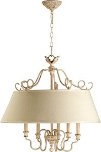 Quorum 6306-5-70 - Nook Pendant - 5 Light - Persian White Finish - Salento Collection