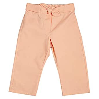 Le Coccole Kids Atelier Pink Drawstring Trousers Pant For Girls