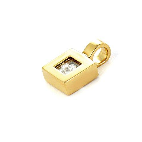 Tous mes bijoux - Pendentif seul (sans chaîne) - Or jaune 18 cts - Diamant 0.108 cts - PDTHR01001