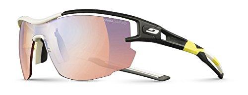 Julbo Aero Pro Sunglasses (Zebra Light Red - Yellow/White/Black, Zebra Light Red)