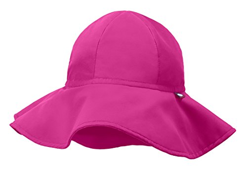 City Threads Swimmig Hat For Boys and Girls, Swim Hat Bucket Floppy Hat With SPF Sun Protection SPF For Beach Summer Pool, Hot Pink, - Sun City Hot In Summer The