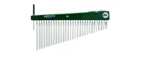 Meinl Percussion LC60HF Artist Series Luis Conte Signature Double Row Chimes, 60 Bars, Green (Bar Chimes Series)