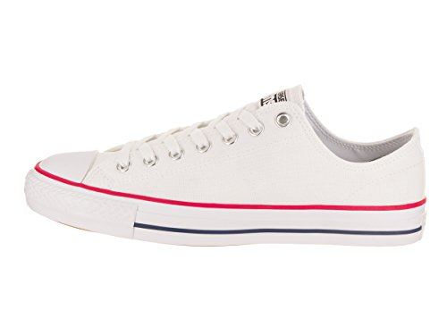 Converse Unisex Chuck Taylor All Star Pro Ox Basketball Shoe White/Red/Insignia 5AzEq8Rgfi