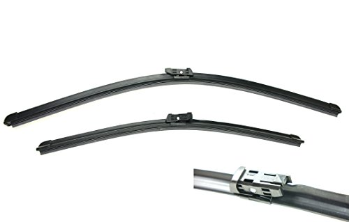EURO-BLADES Front Windshield Wiper Blades Set of 2 24