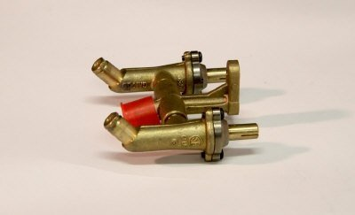 45-Degree Twin Valve Assembly - Natural Gas (Twin Valve)