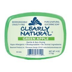 (Clearly Natural Glycerine Peppermint Soap 120 ml by Clearly Natural)