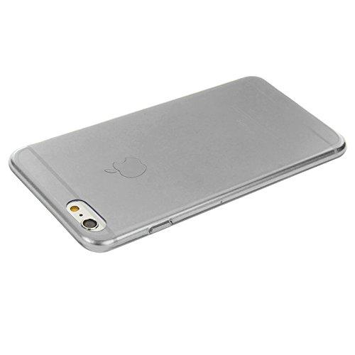 haweel Zero Series TPU Case/Etui souple Ultra Fine/slim/Coque de protection pour Apple iPhone 6& 6S dans noir transparent