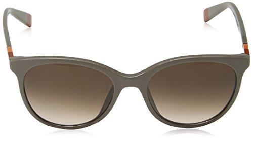 FURLA Su4967, Lunettes de Soleil Femme, Brown (Shiny Full Taupe), Taille Unique