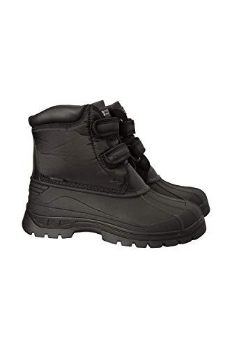 All Womens Boots Mountain Snowboard (Mountain Warehouse Grit Womens Short Muck Boots -Waterproof Rain Shoe Black 10 M US Women)