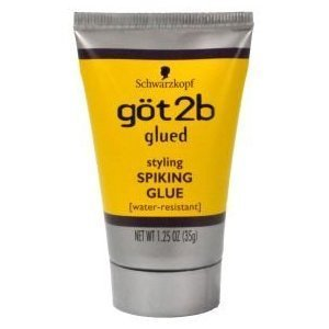 Schwarzkopf GOT2B GLUED SPIKING GLUE 1.25 oz. (Pack of 3) TRAVEL SIZE