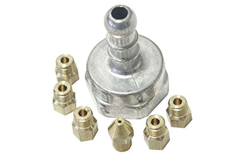 Bolsita inyectores Gas butano referencia: 76 x 3235 para mesa de ...