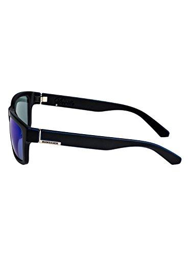 Matte pour soleil worn Deville Quiksilver Blue Noir Homme Black Lunettes Blue Ml EQYEY03043 de IUwI8F